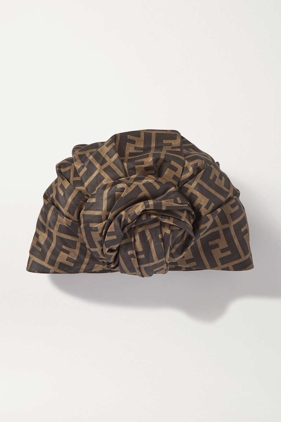 Fendi Printed silk turban