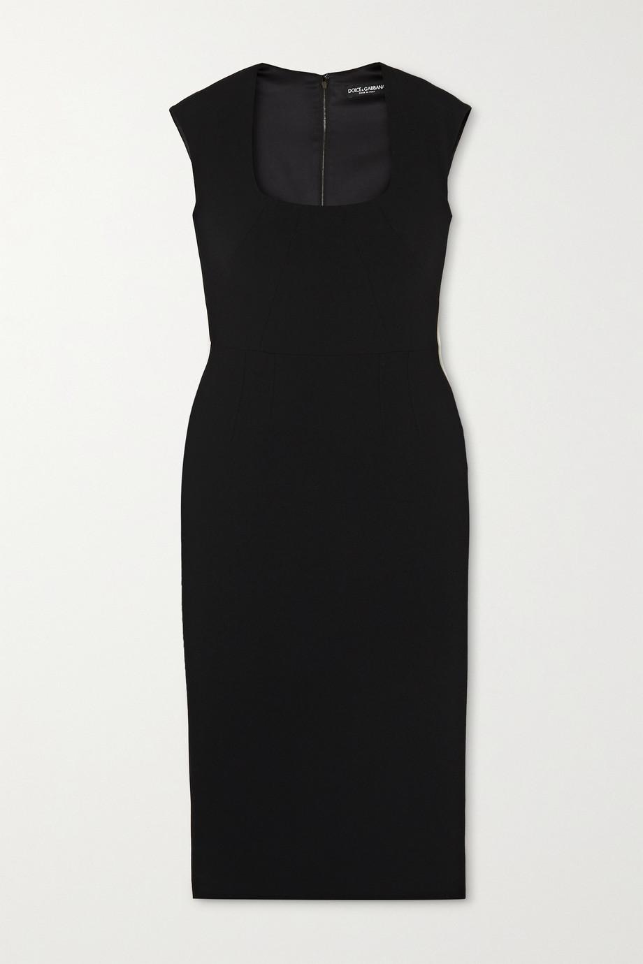 Dolce & Gabbana Crepe midi dress