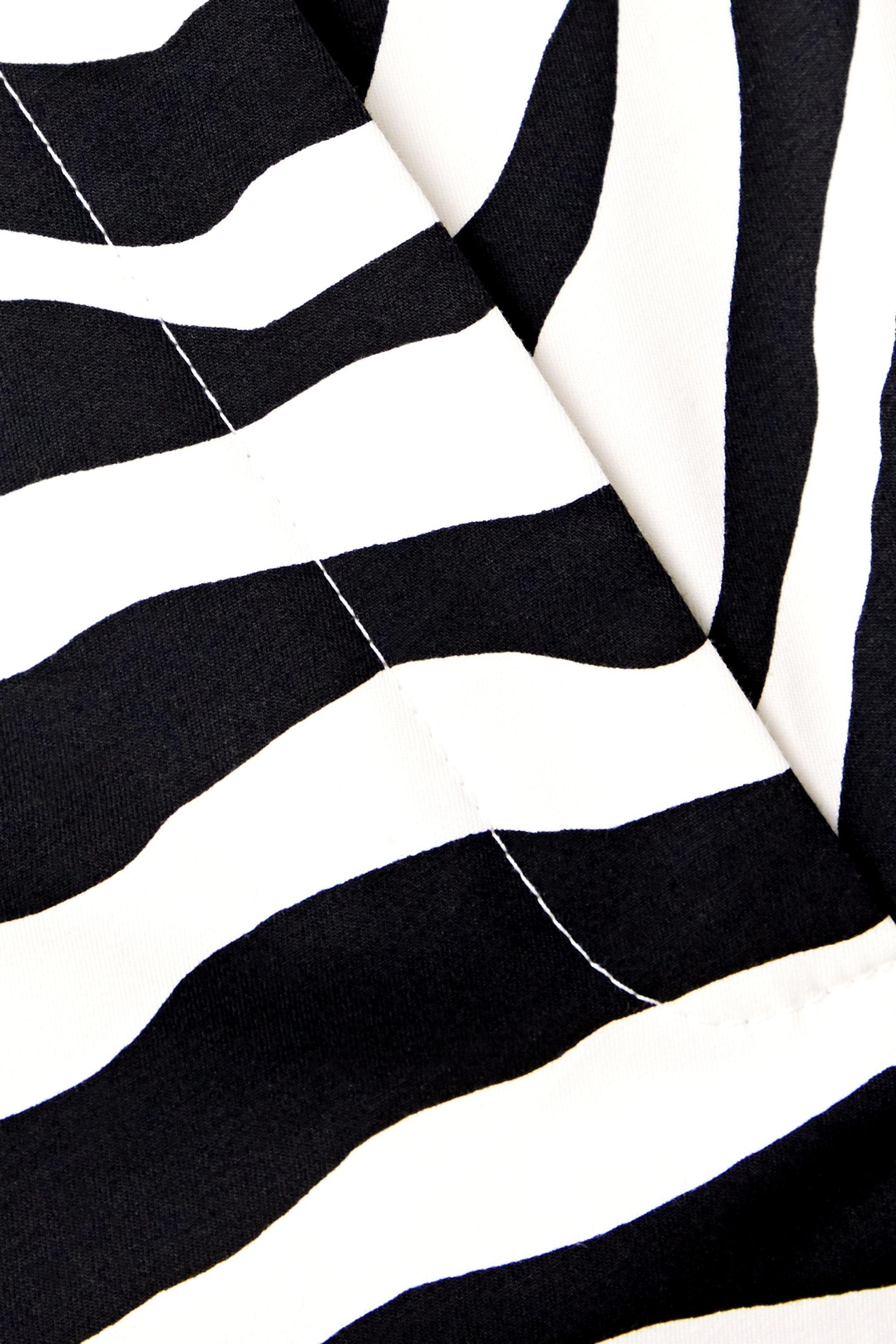 Zebra Print Zebra-print Cotton-blend Twill Shorts | Dolce & Gabbana