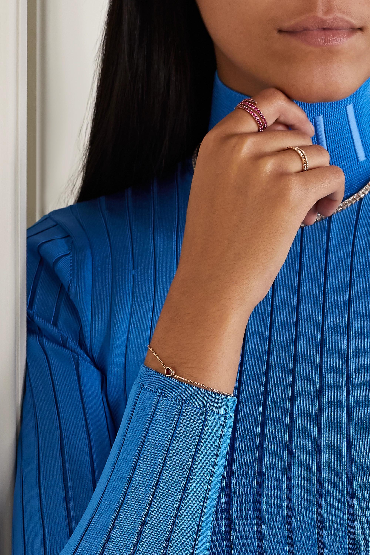 Anita Ko 18-karat rose gold ruby ring