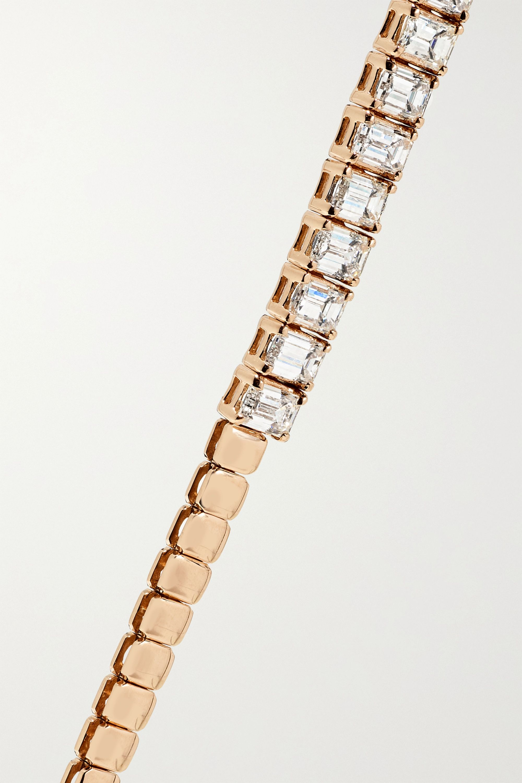 Anita Ko 18-karat rose gold diamond choker