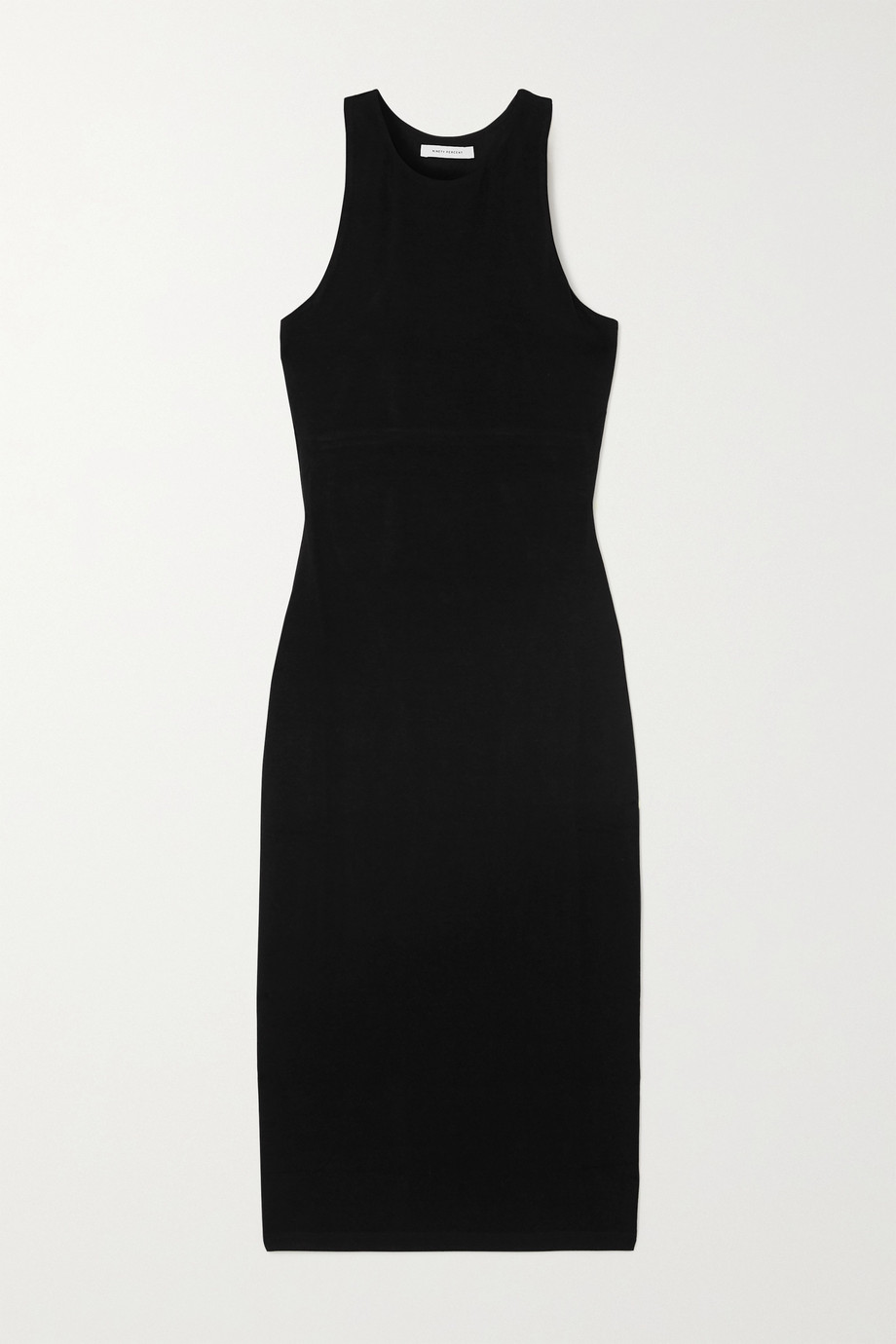 Ninety Percent + NET SUSTAIN stretch-Tencel dress