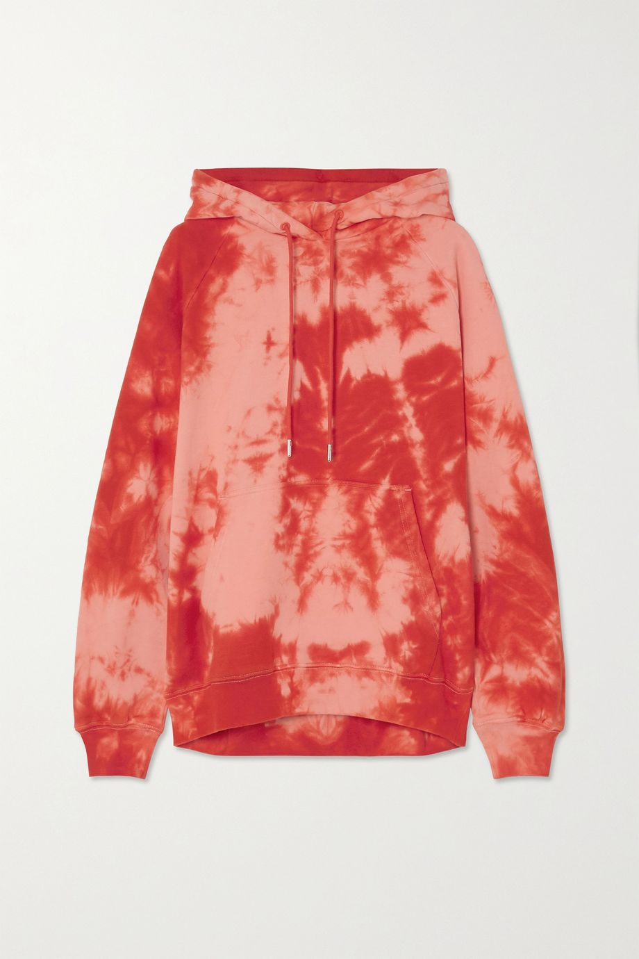 Ninety Percent + NET SUSTAIN Linda tie-dyed organic cotton-jersey hoodie