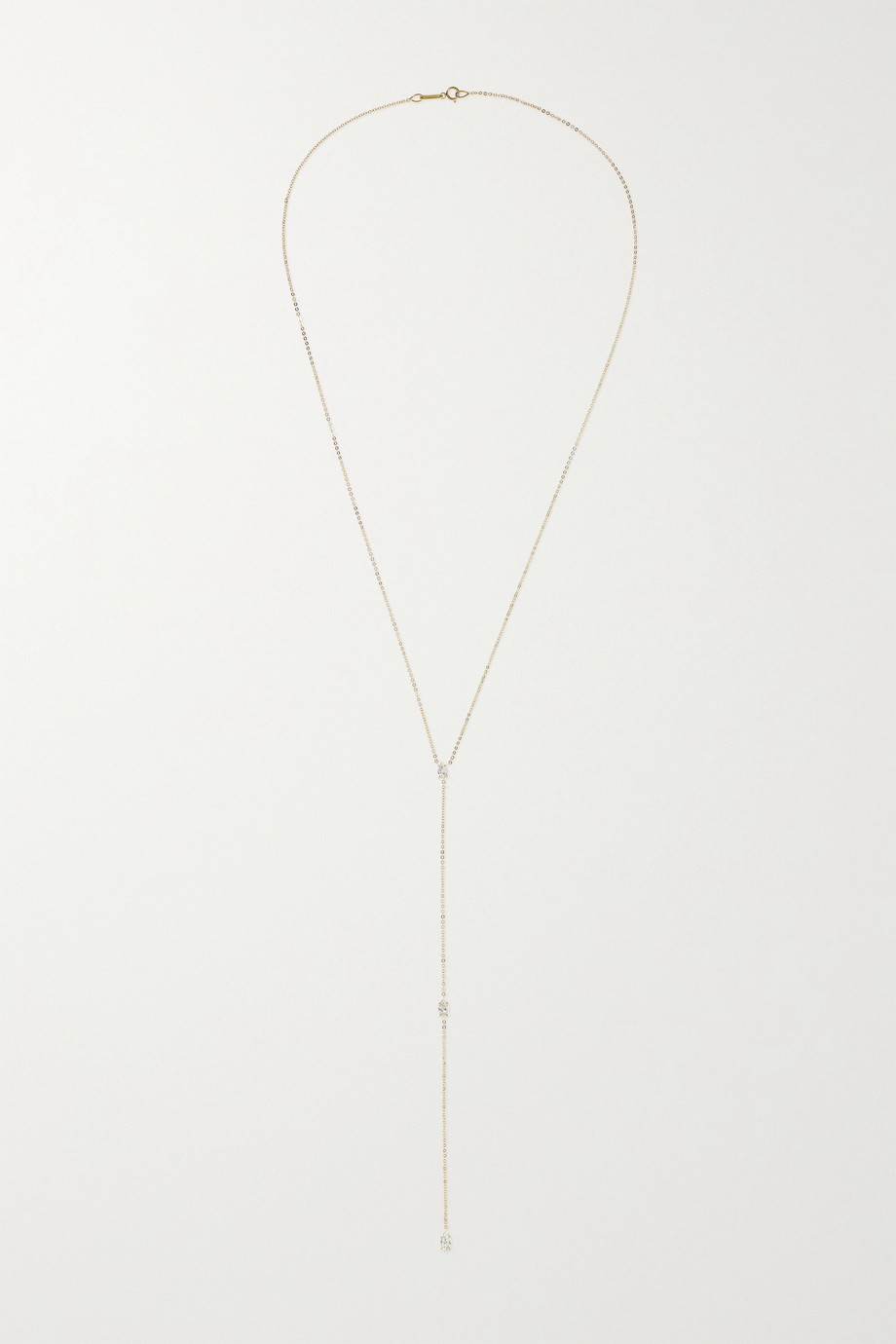 Anita Ko 18-karat gold diamond necklace