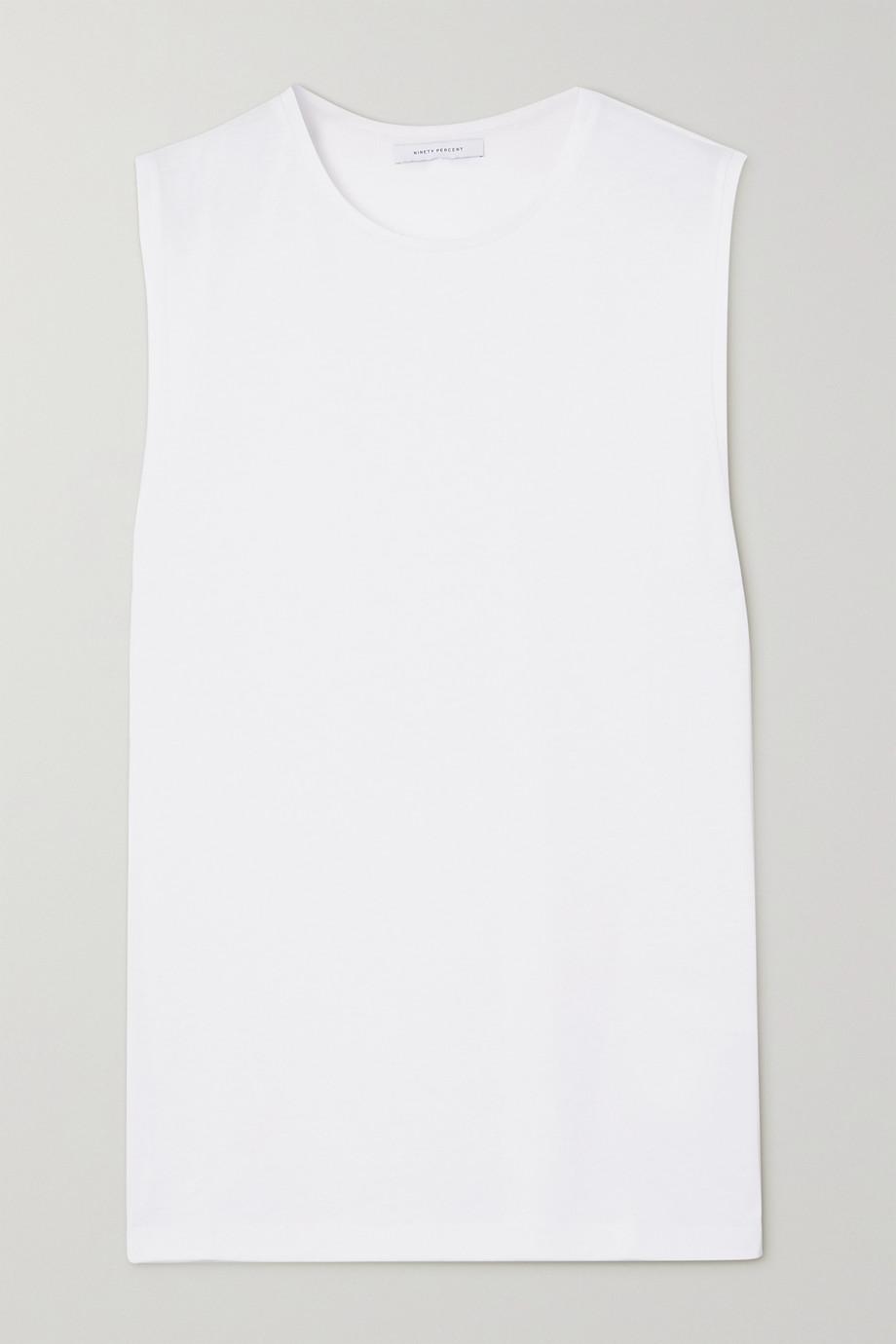 Ninety Percent + NET SUSTAIN organic cotton-jersey tank