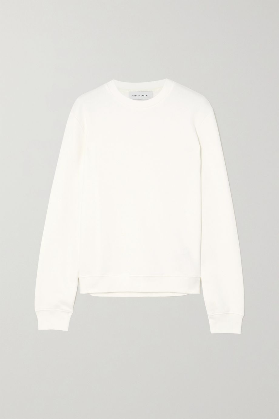 Ninety Percent + NET SUSTAIN Stephanie organic cotton-jersey sweatshirt