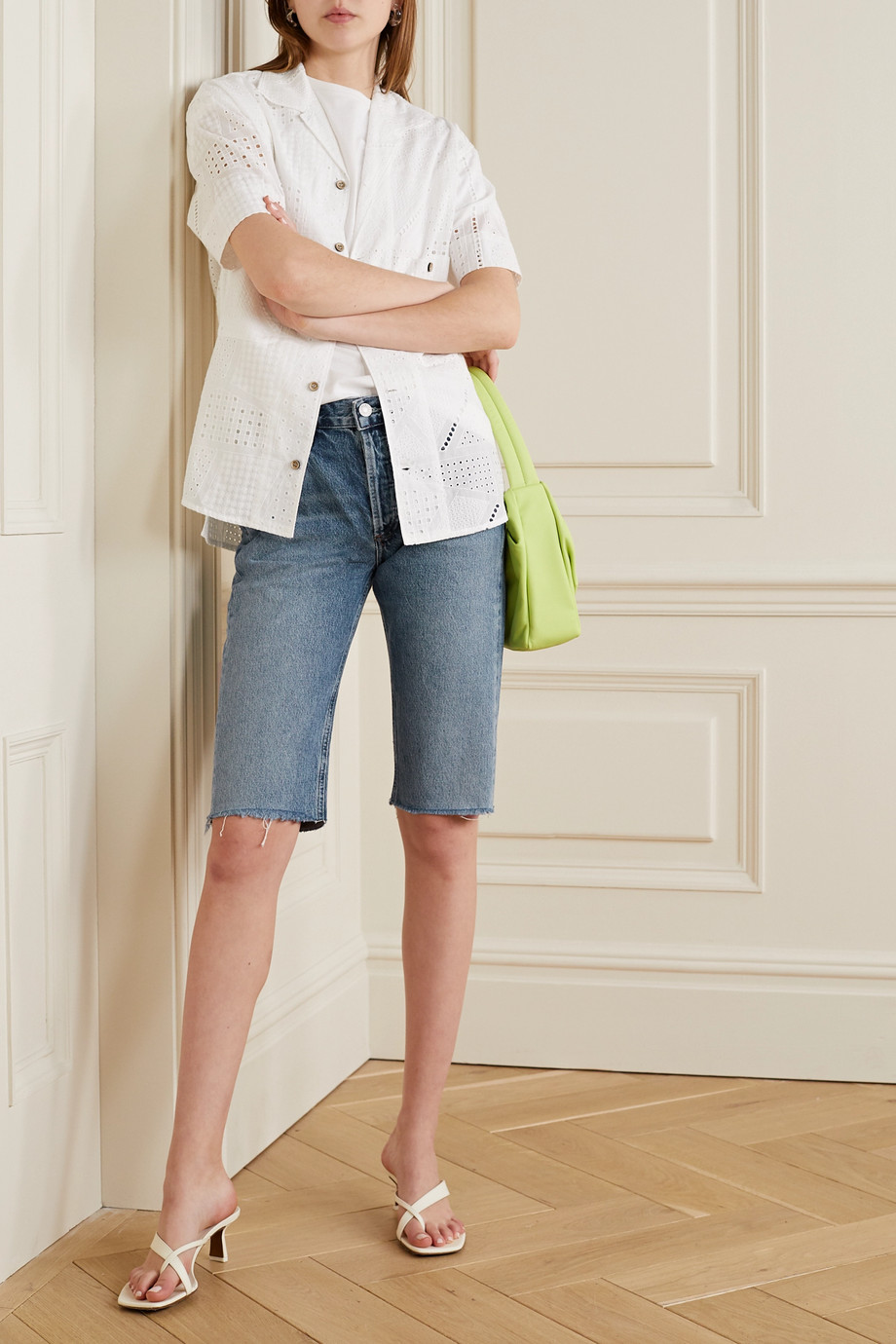 AGOLDE Carrie Jeansshorts