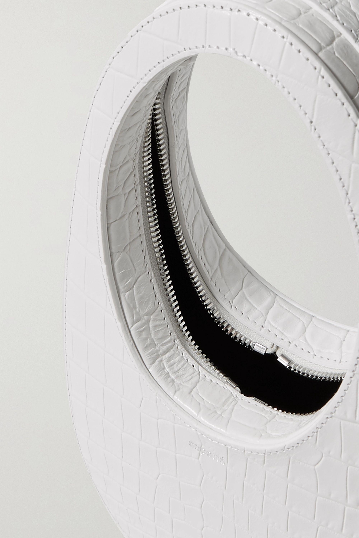 Coperni Swipe mini croc-effect leather tote