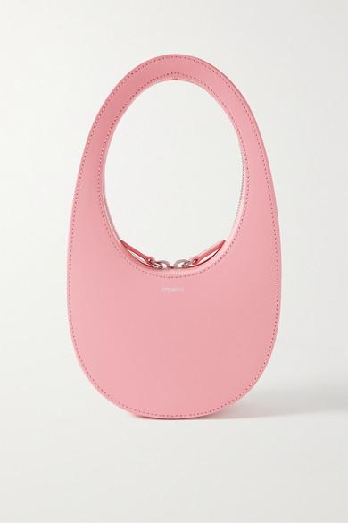 Coperni - Swipe Mini Leather Tote - Baby pink