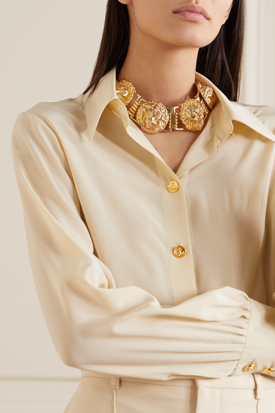 Gucci Gold-tone necklace