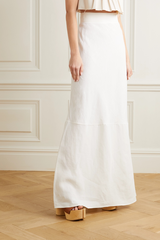 Miu Miu Linen maxi skirt