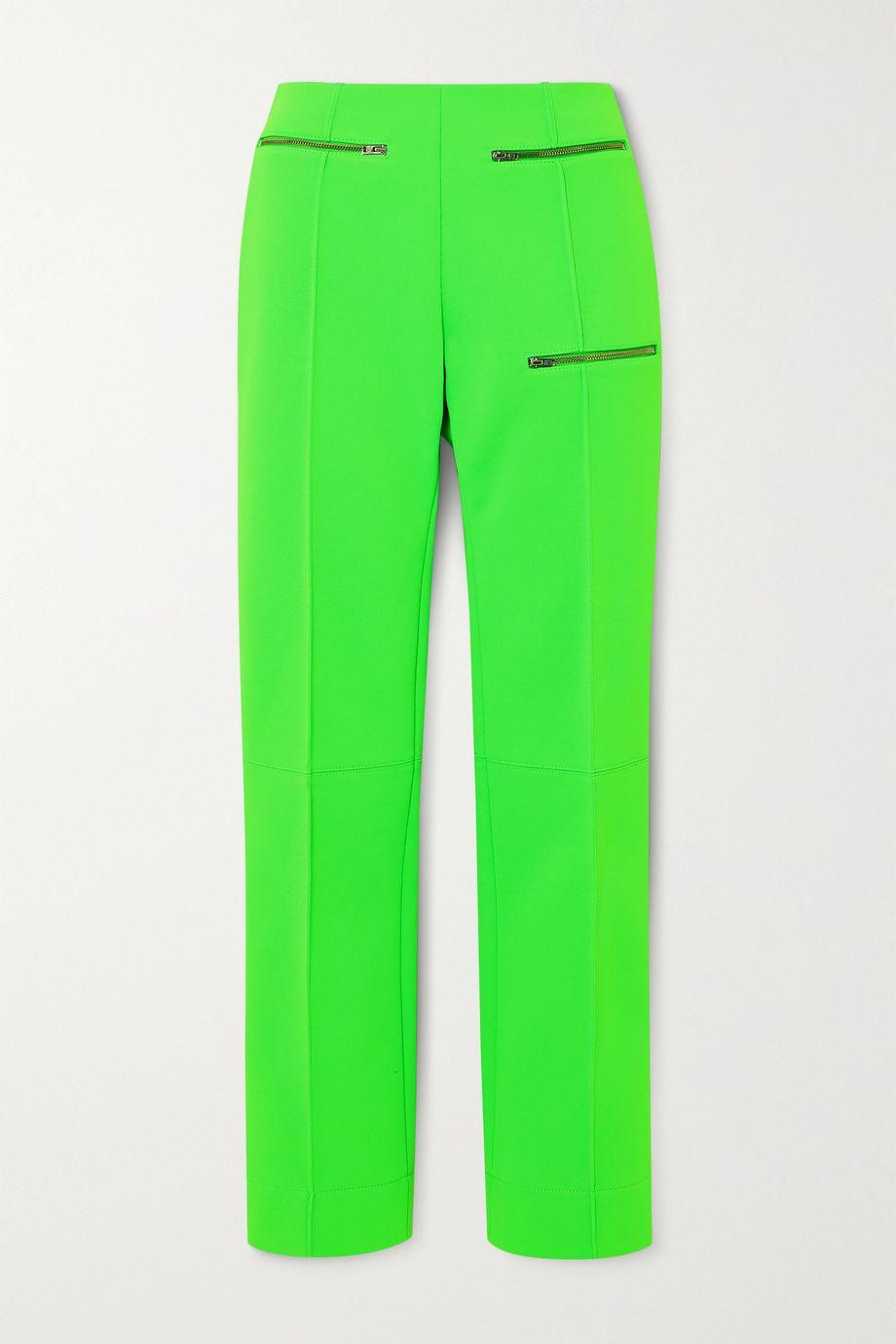 Kwaidan Editions Zip-detailed stretch-jersey straight-leg pants