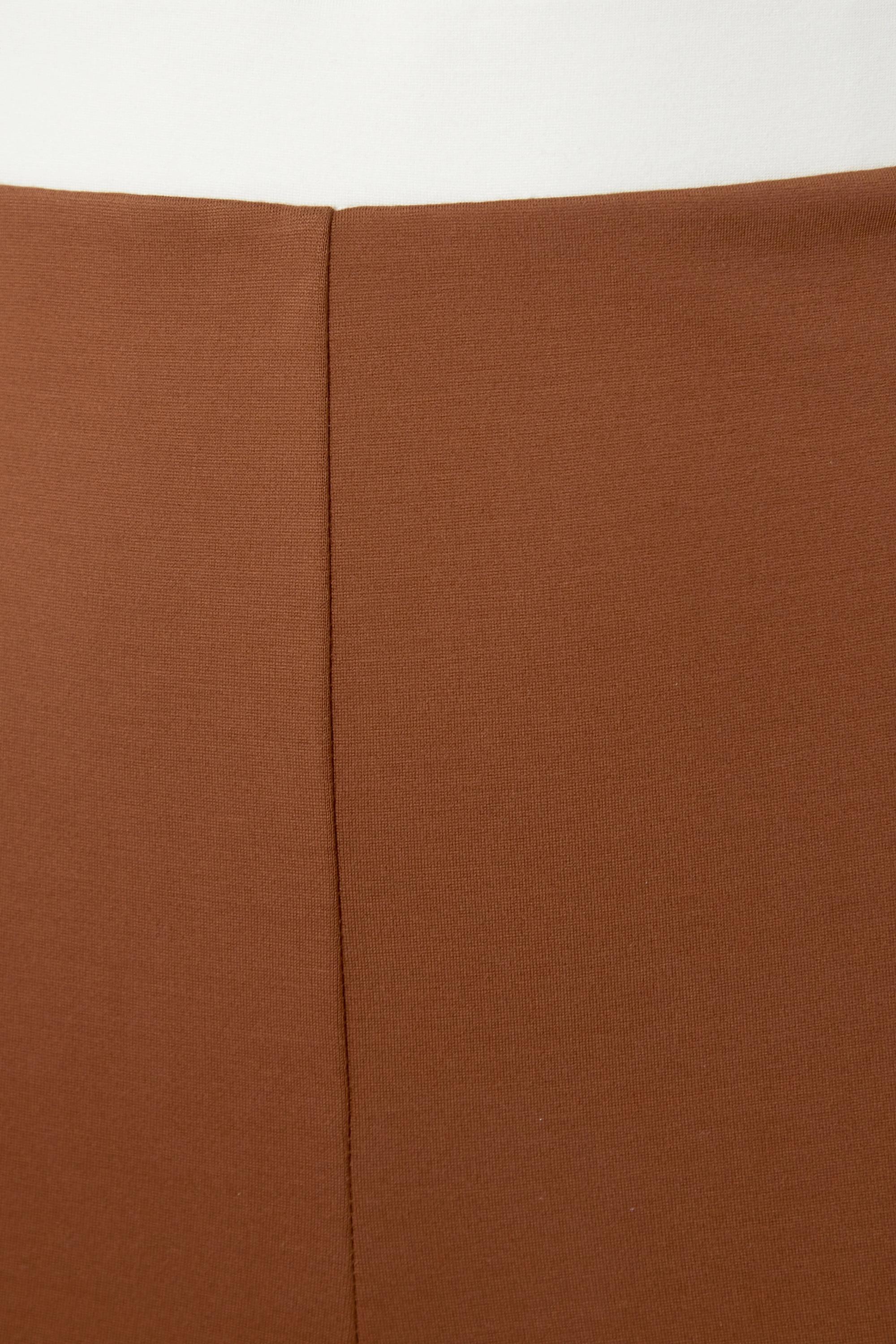 STAUD Milo striped stretch-ponte flared pants