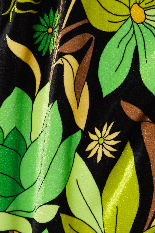 Fendi Wendbarer Badeanzug aus Stretch-Chenille mit Print