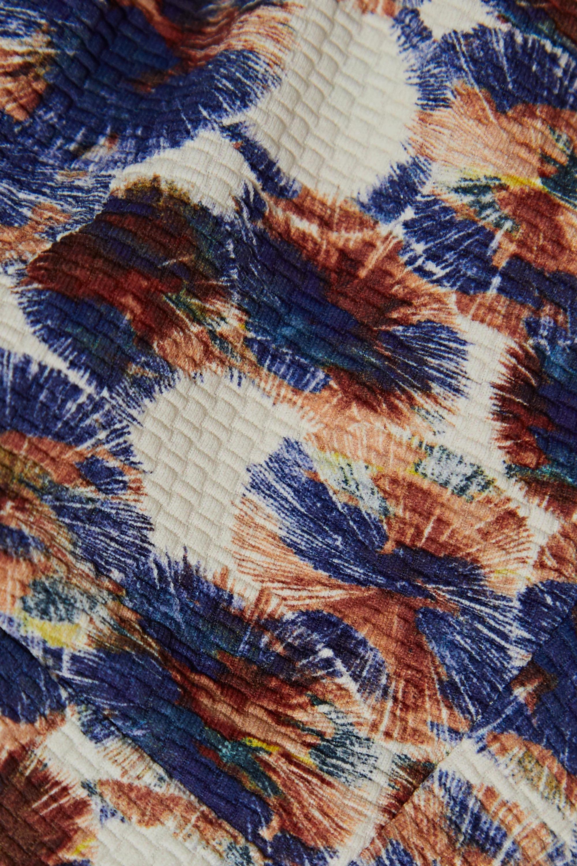 Marysia Palm Springs scalloped printed bikini top