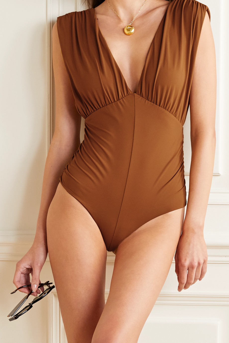 Marysia Monterey gathered swimsuit