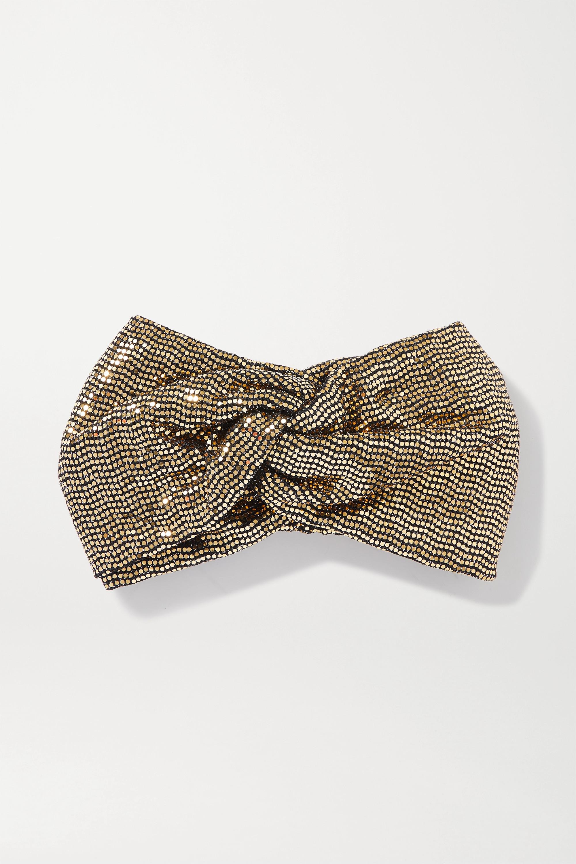 Gucci 拧绕式金属丝发带