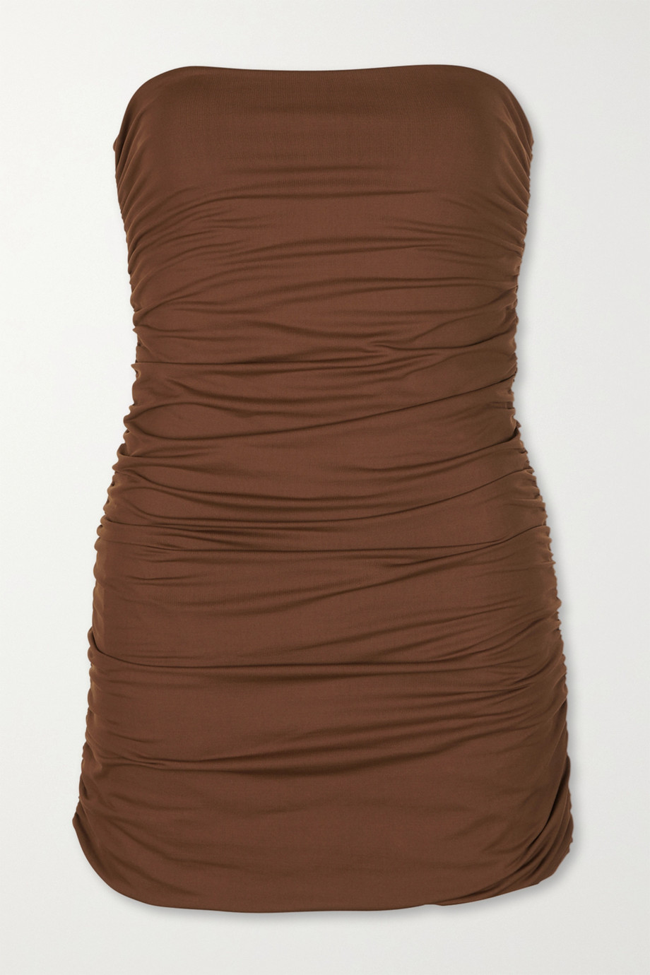Marysia Avalon strapless ruched swimsuit