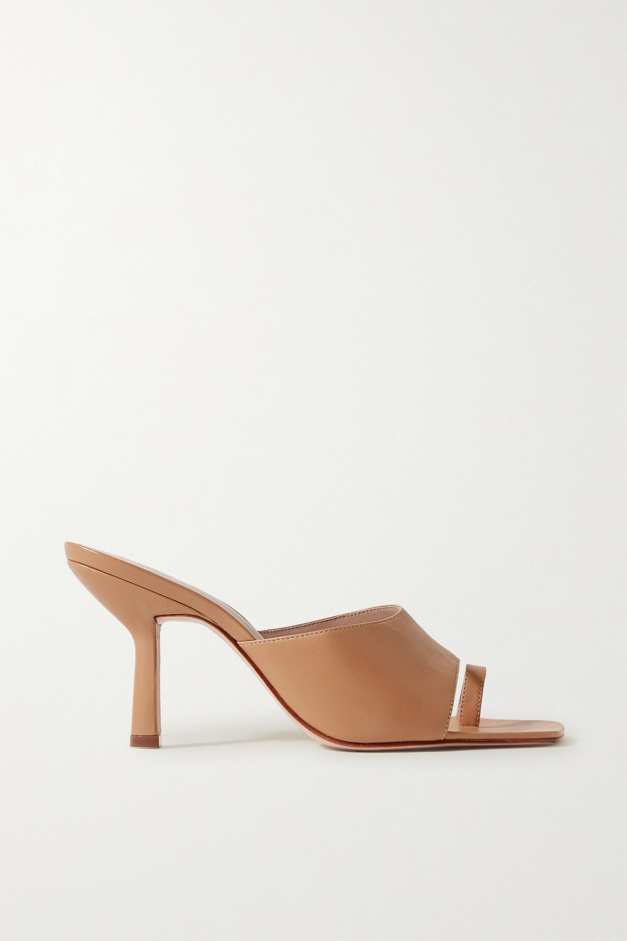 Porte & Paire 皮革穆勒鞋
