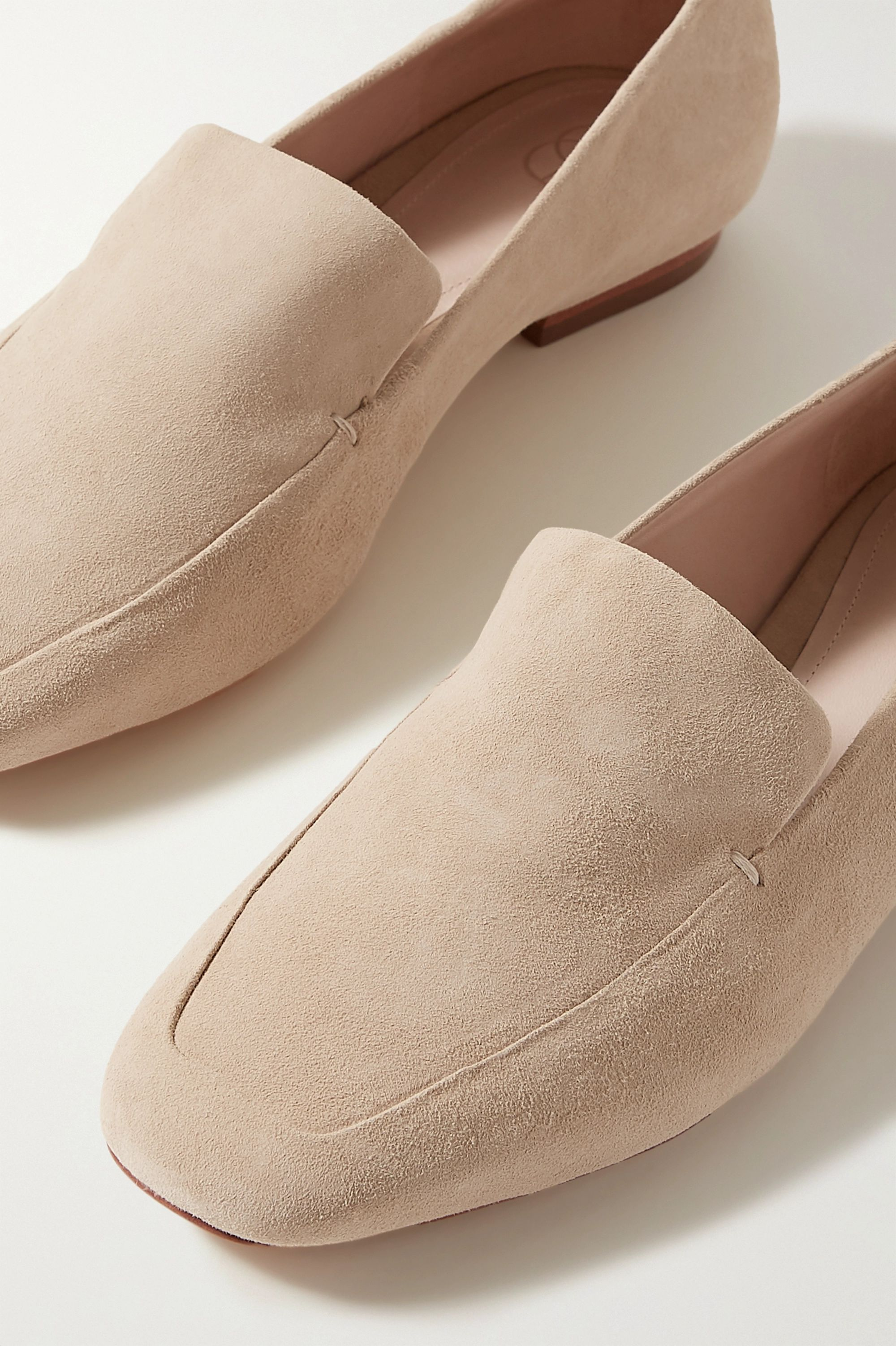 Porte & Paire Suede loafers