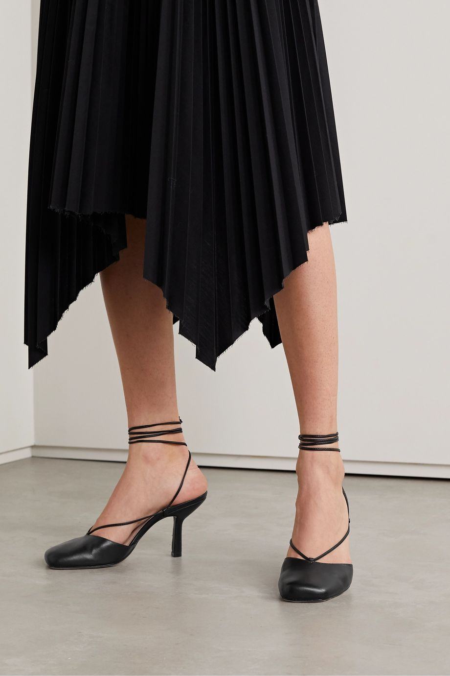 Porte & Paire Leather pumps