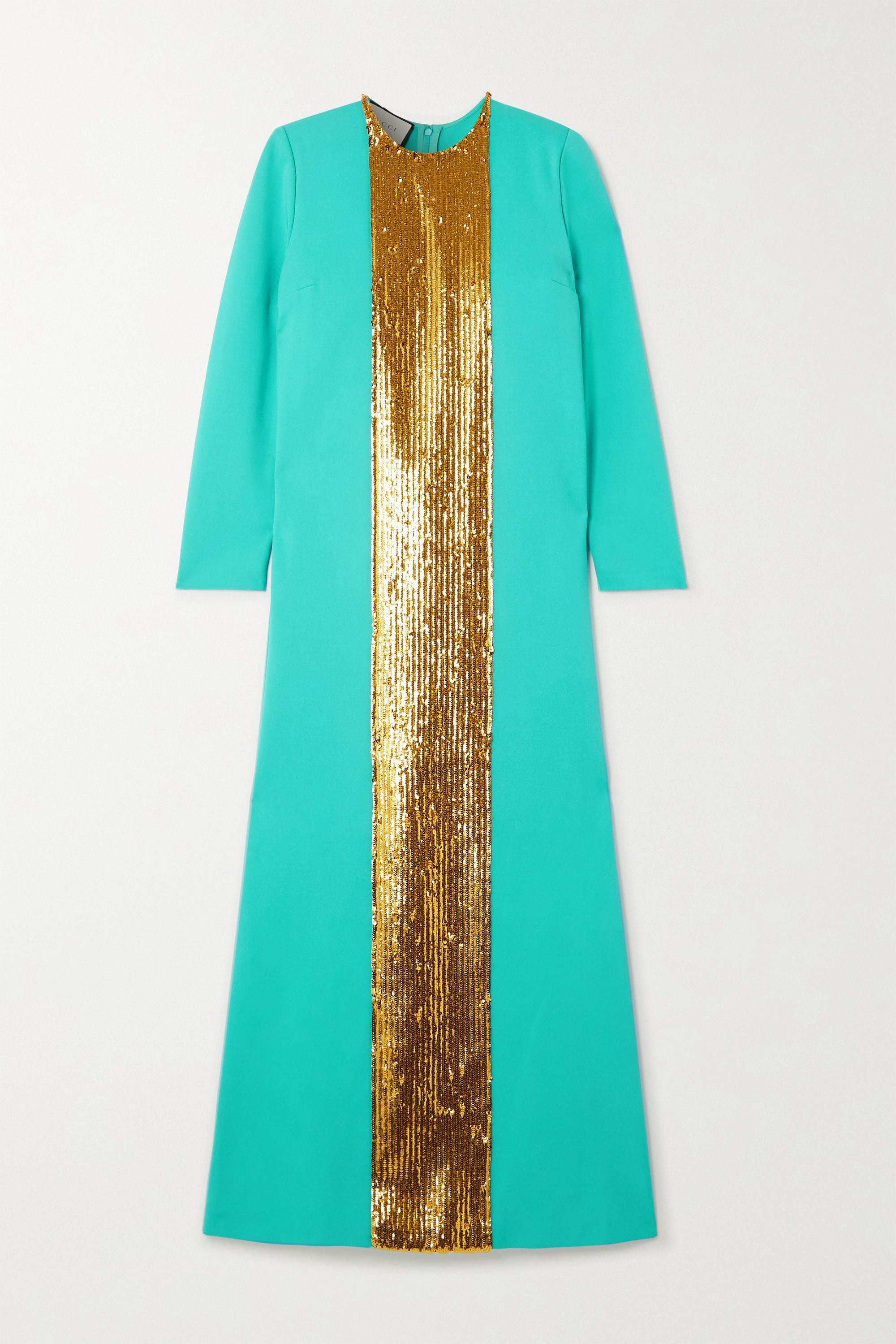 Gucci Sequin-embellished jersey gown