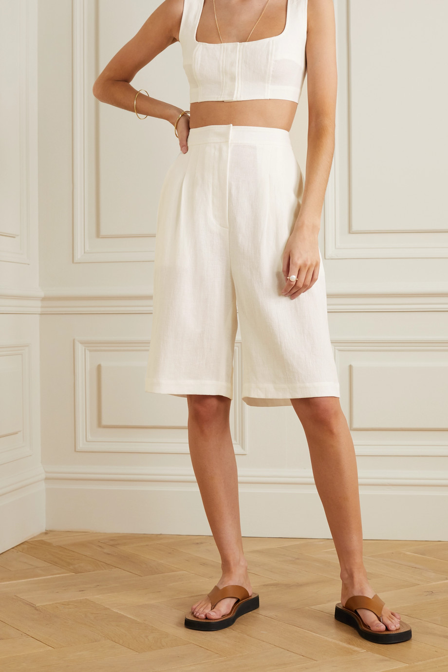 Le Kasha Linen shorts