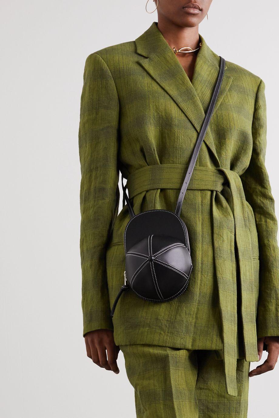 JW Anderson Cap leather shoulder bag