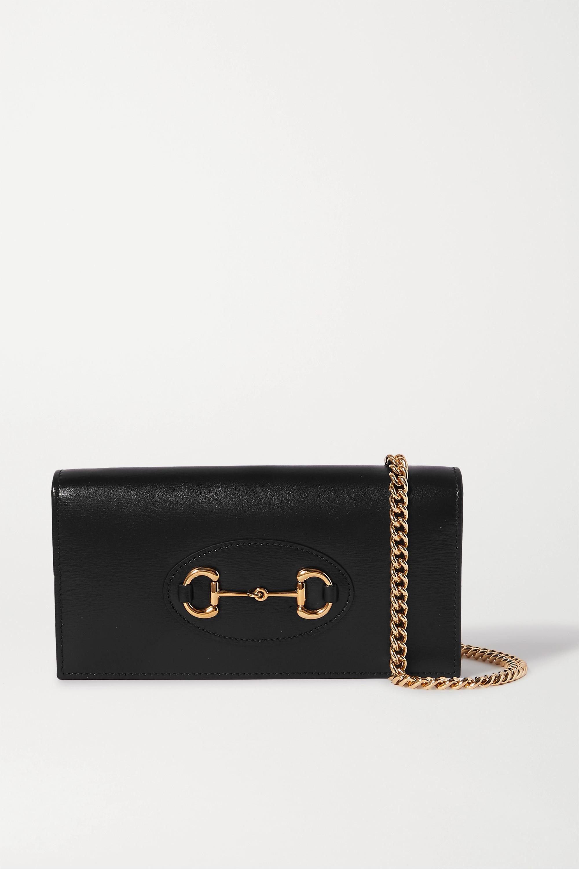 Gucci 1955 horsebit-detailed leather shoulder bag
