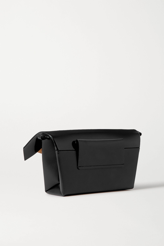 Maison Margiela Foldover embellished leather shoulder bag