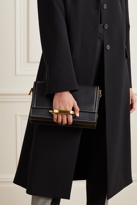 Alexander McQueen The Story leather shoulder bag