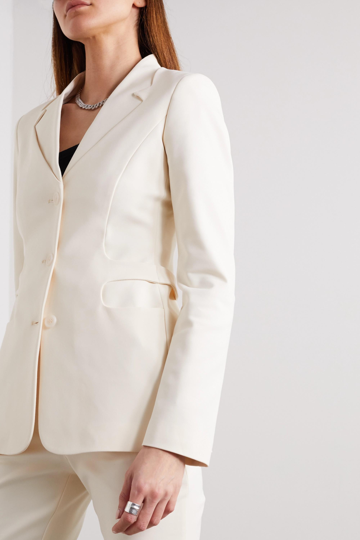 Coperni Trompe L'Oeil stretch cotton-blend blazer