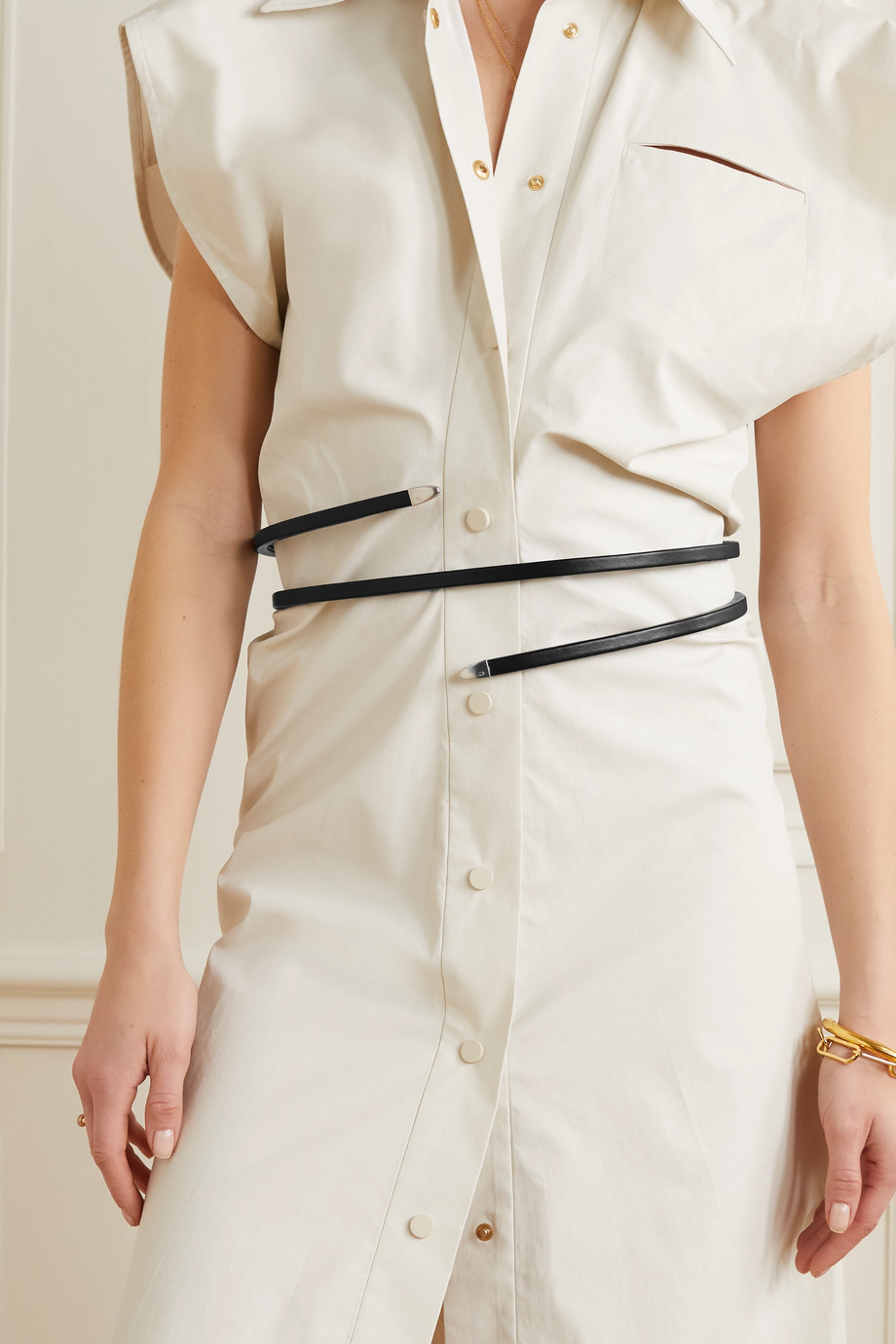 Bottega Veneta Leather waist belt
