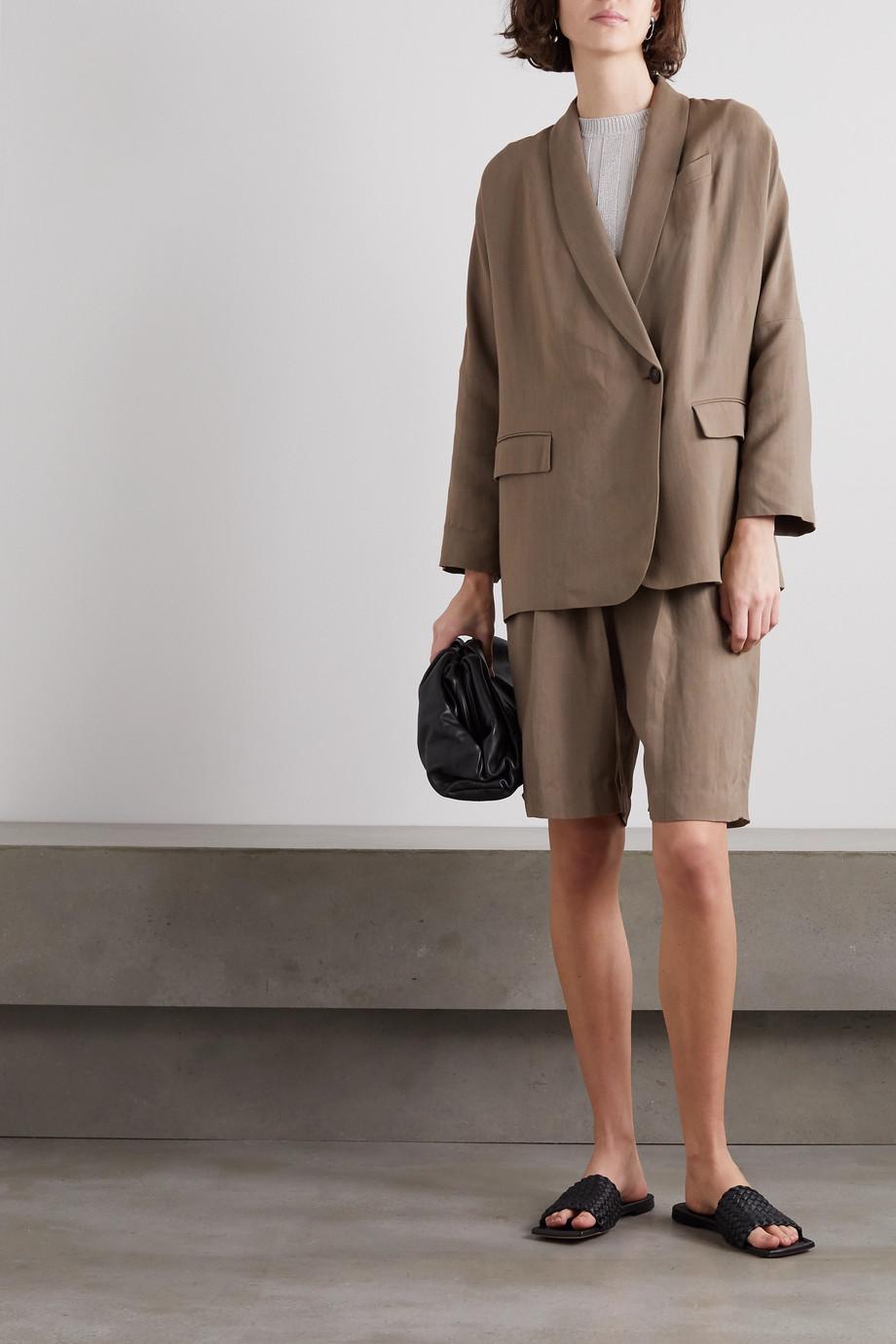 Brunello Cucinelli + Space for Giants twill blazer