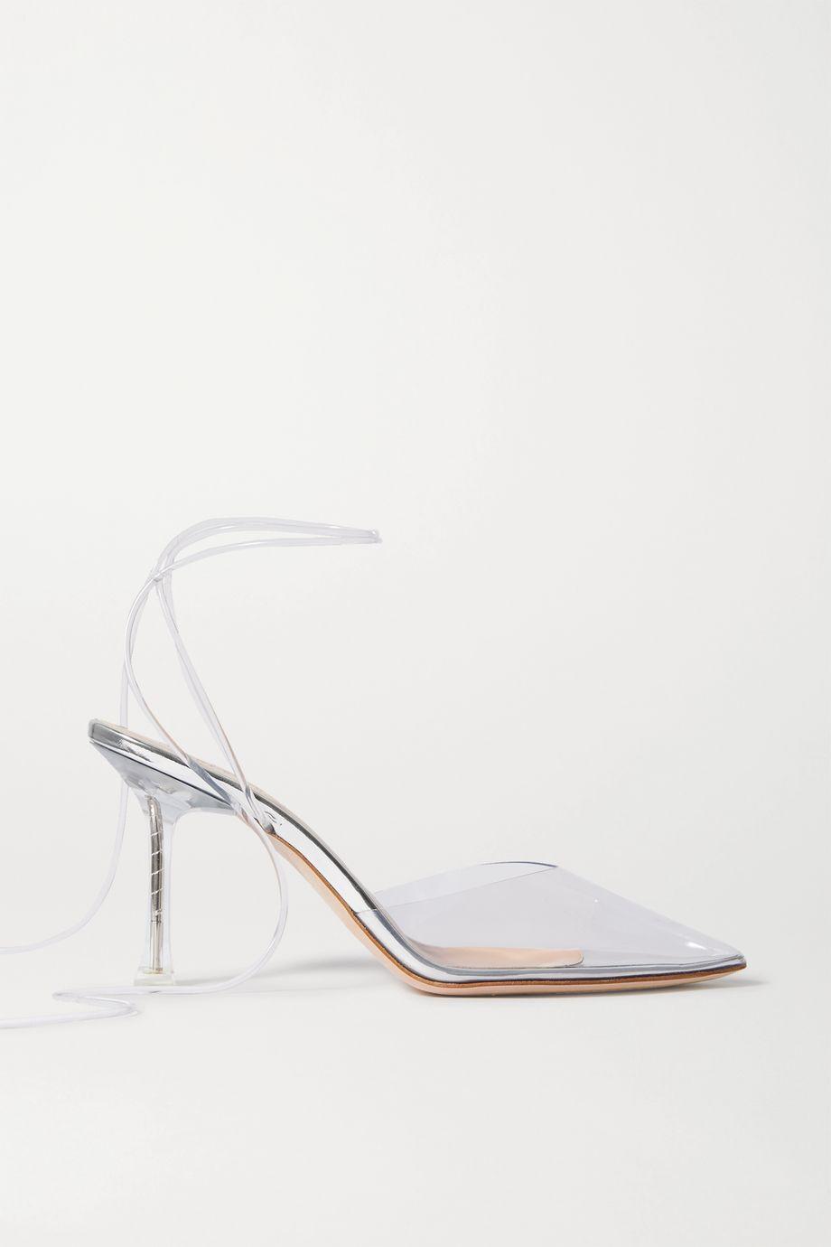 Magda Butrym Finland crystal-embellished PVC pumps