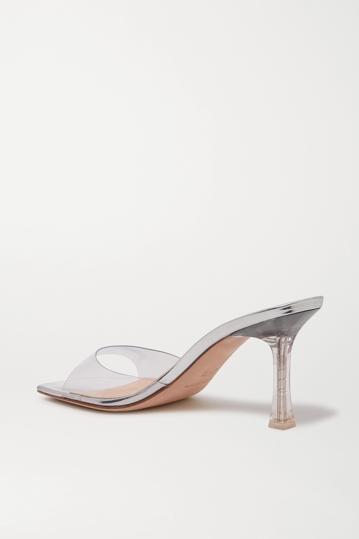 Magda Butrym Estonia PVC 镜面皮革凉鞋