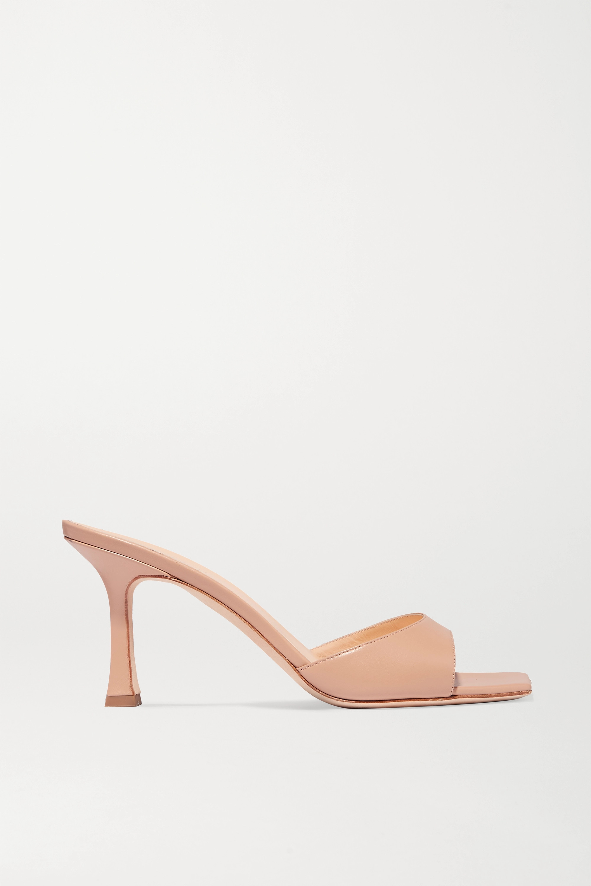 Estonia leather mules by MAGDA BUTRYM, available on net-a-porter.com for $620 Kendall Jenner Shoes Exact Product