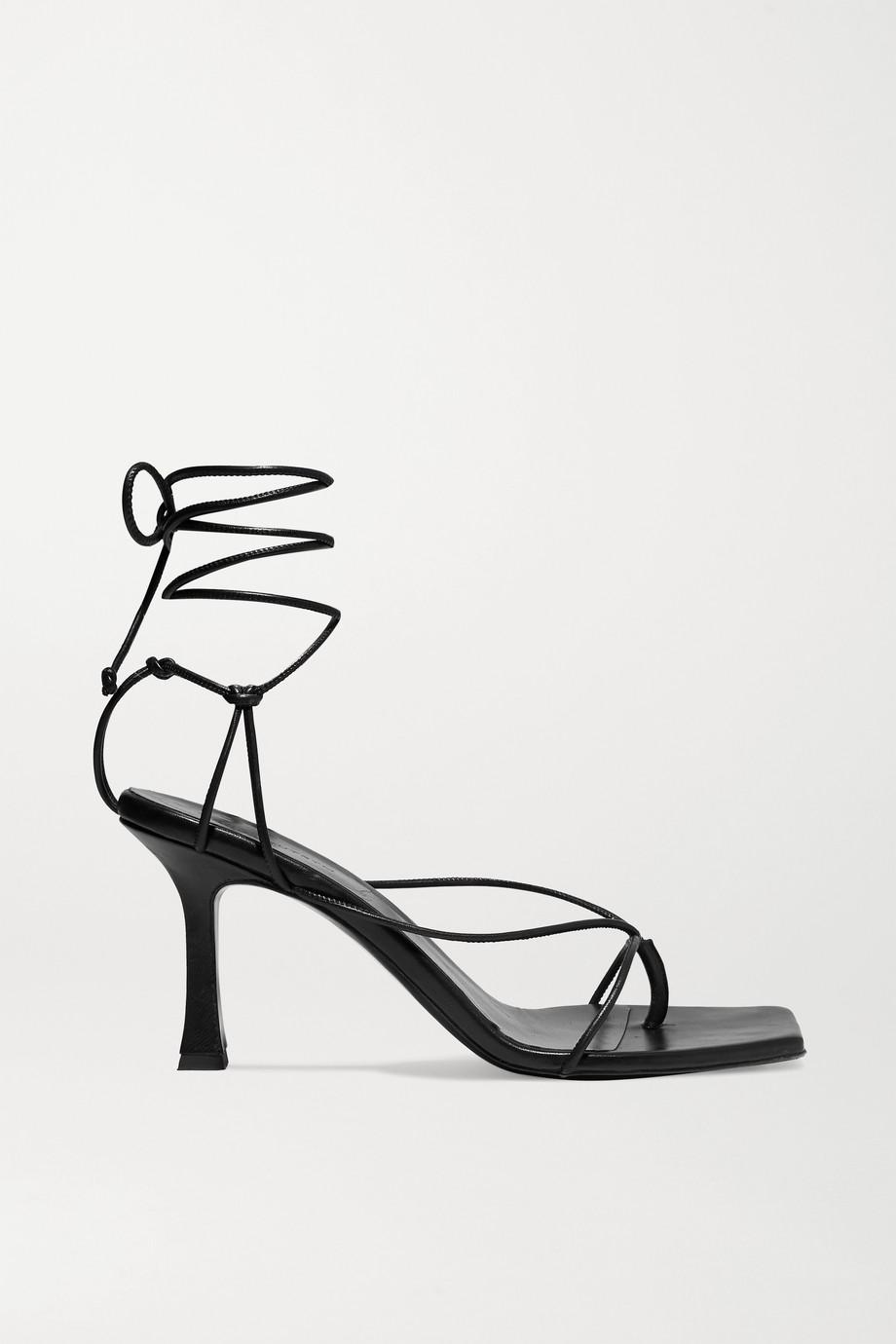 Magda Butrym Sweden 皮革凉鞋