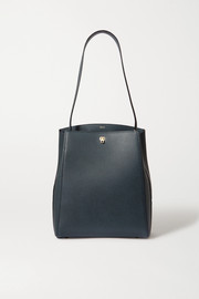 Valextra Brera textured-leather shoulder bag
