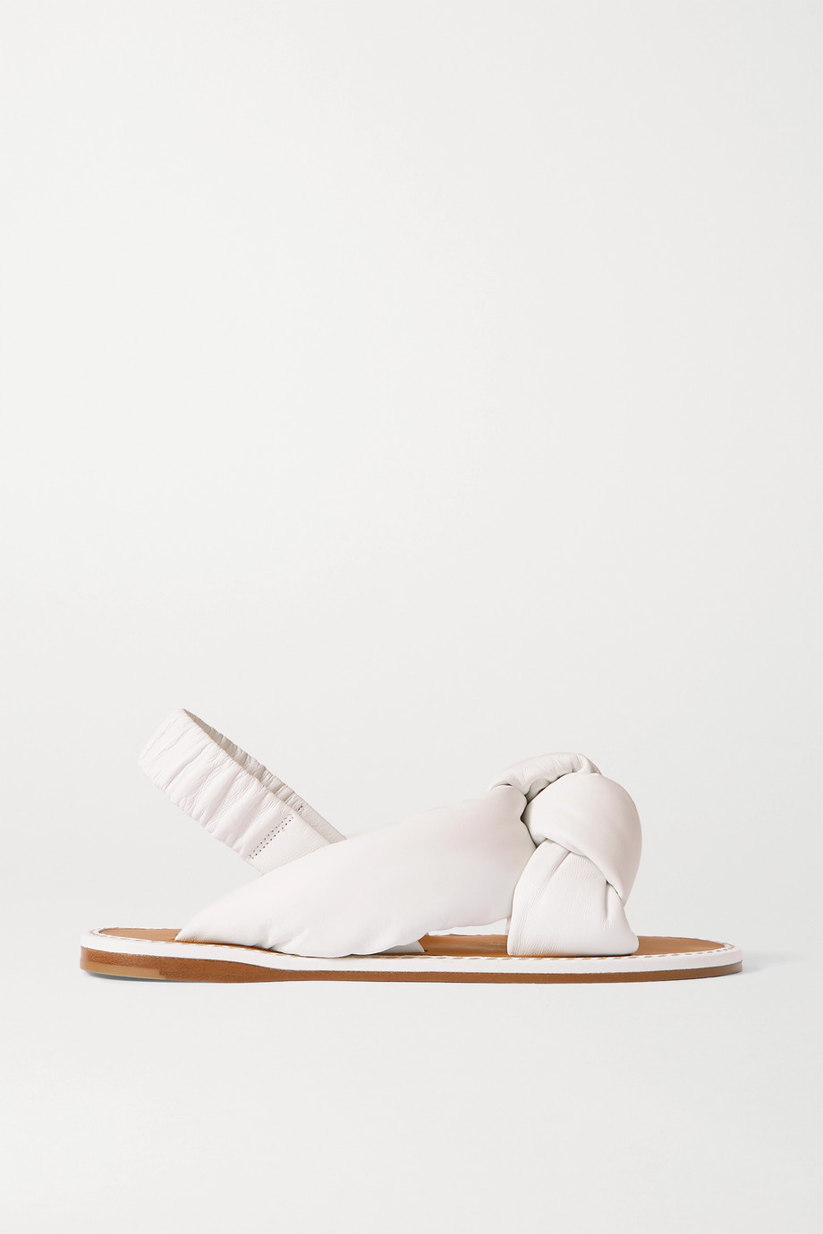 Miu Miu Knotted leather sandals