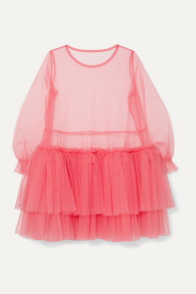 Tiered Tulle Mini Dress by Molly Goddard