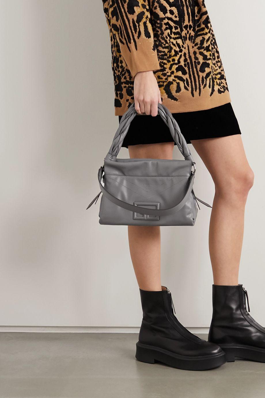 Givenchy ID93 medium leather shoulder bag