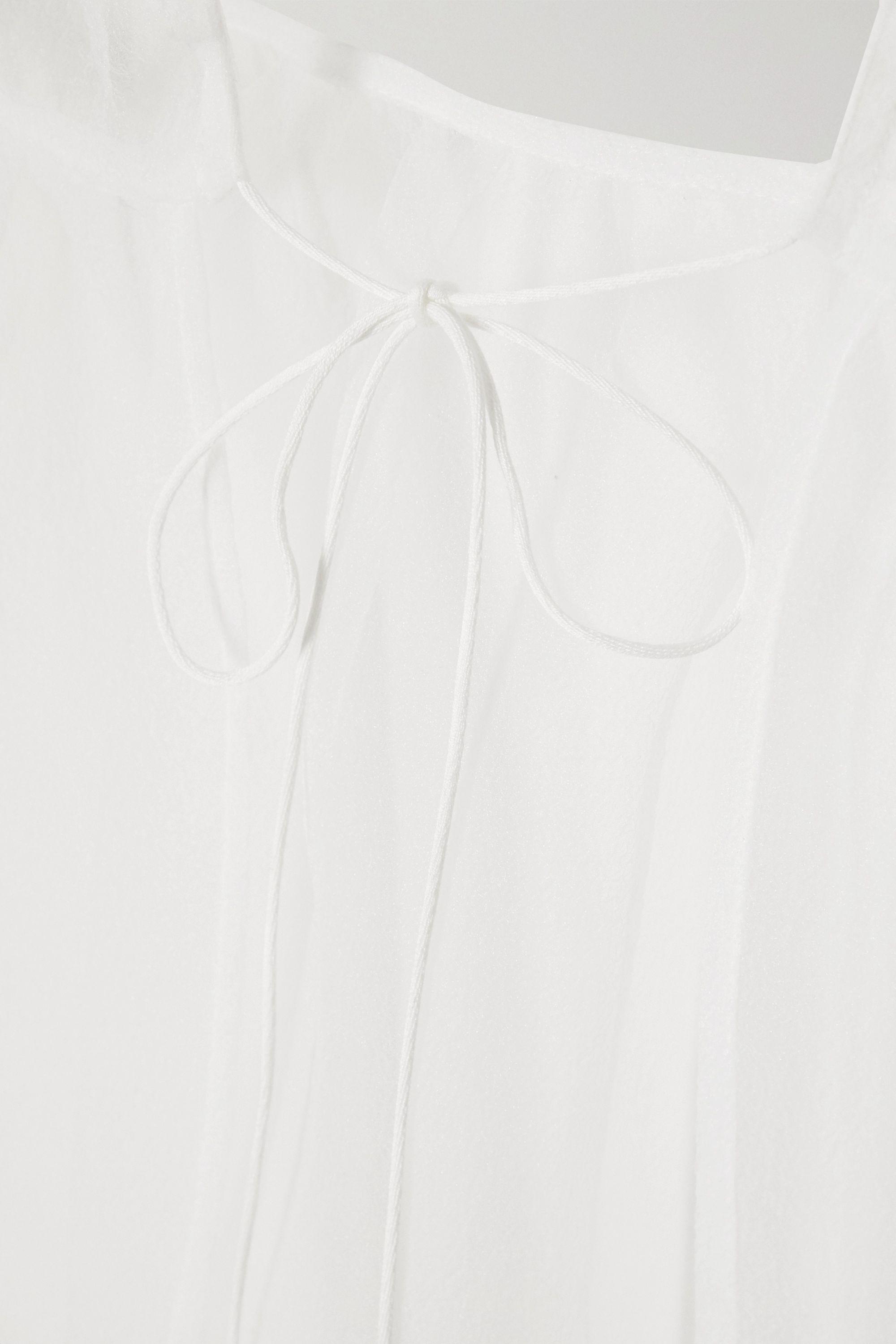 Cecilie Bahnsen Kamille tiered organza maxi dress