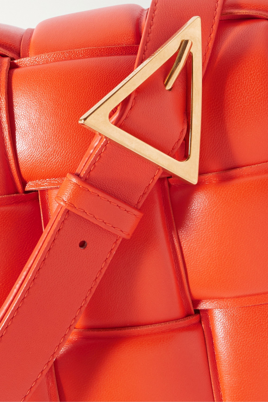 Bottega Veneta Cassette intrecciato quilted leather shoulder bag
