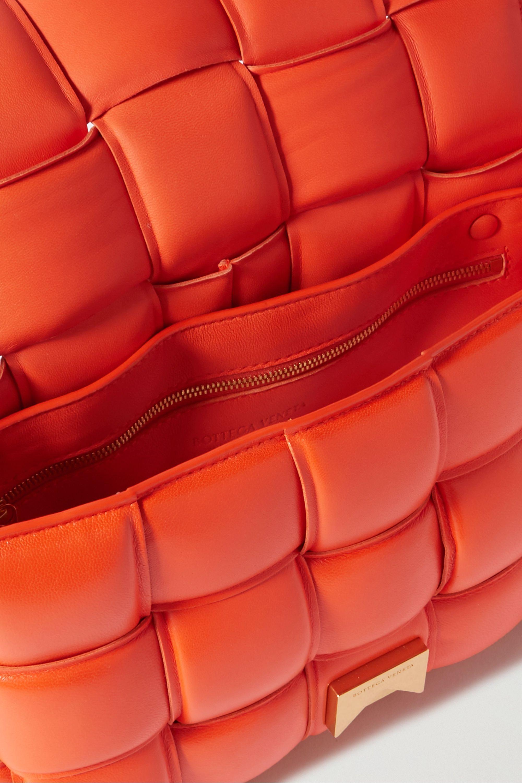 Bottega Veneta Sac porté épaule en cuir matelassé intrecciato Cassette