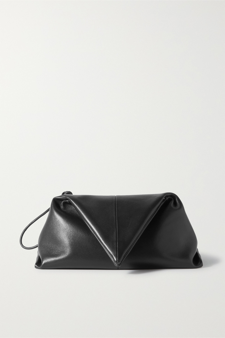 Bottega Veneta BV Trine leather clutch