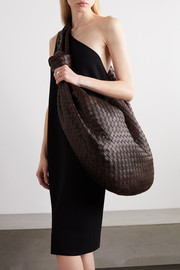 Bottega Veneta Jodie maxi knotted intrecciato leather shoulder bag
