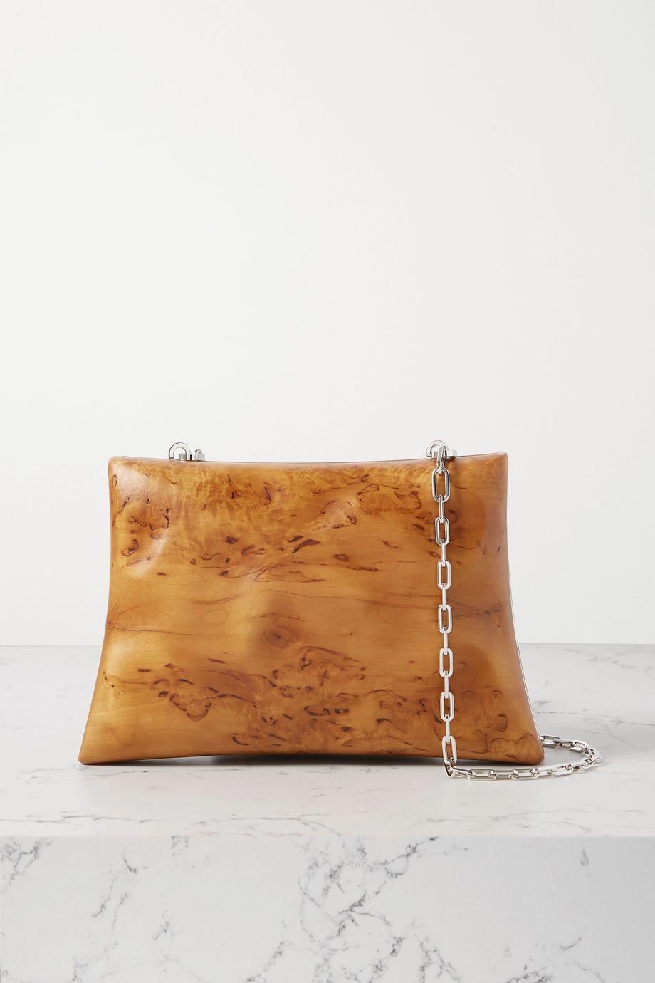 Bottega Veneta Wood clutch