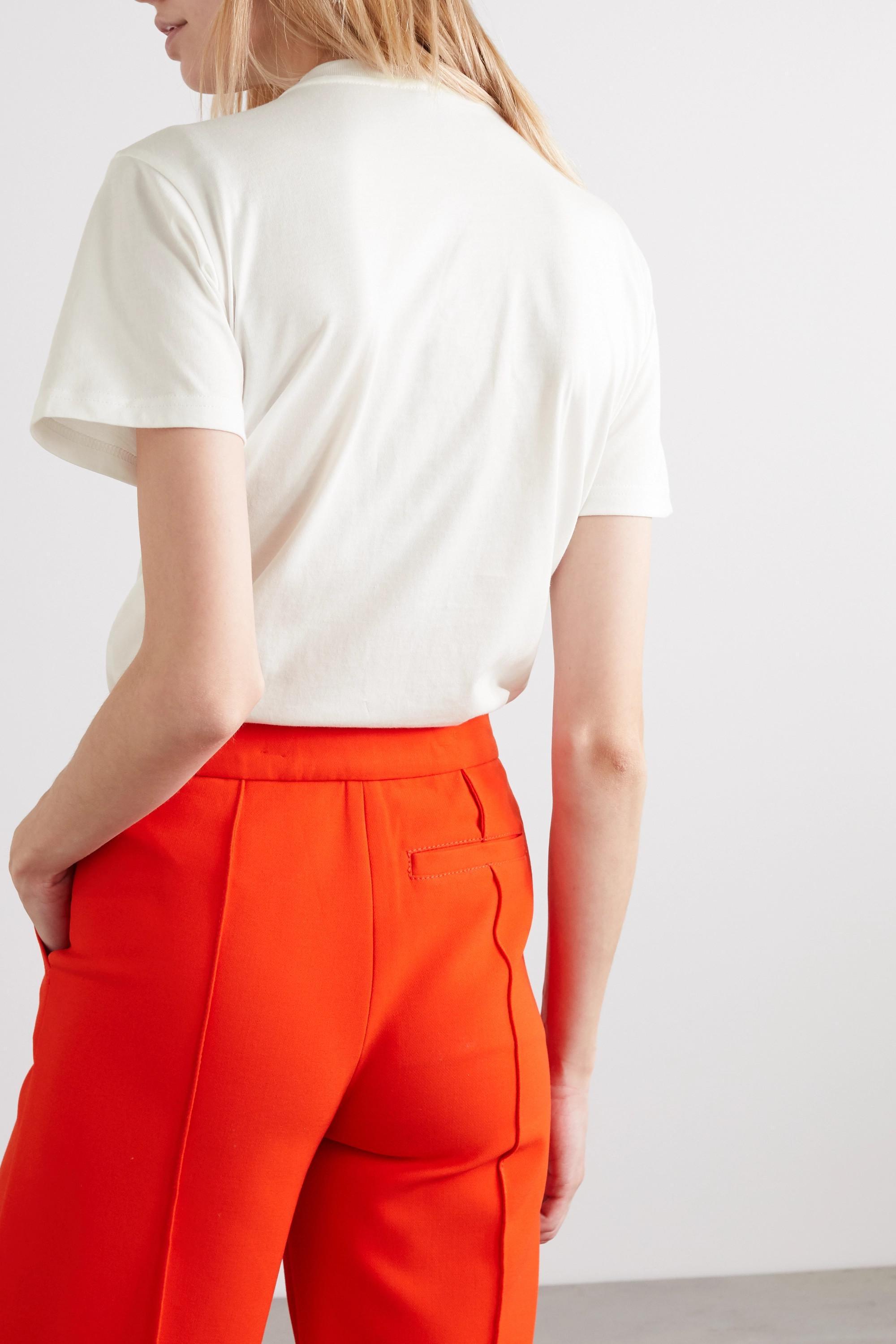 ALEXACHUNG International Women's Day printed cotton-jersey T-shirt