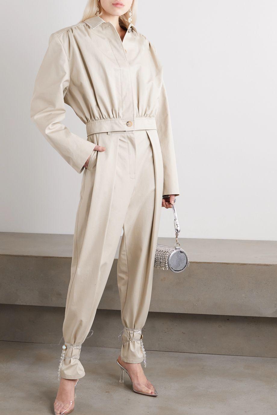Magda Butrym Ipswich cropped cotton-twill jacket